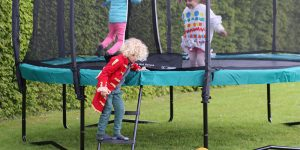Trampoline voor in de tuin