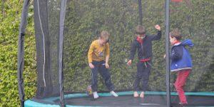 Tuin trampoline